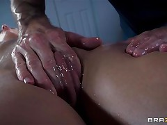 french babe oiled and ass drilled