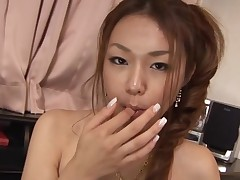 Have fun staring at gorgeous Oriental chick getting banged hawt