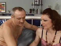 sexy and hairy  older fuck anal assfuck troia takes hard cock in the booty all the way tits