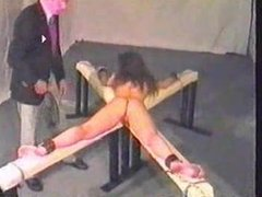 caning this slave girlvery hard-she cries