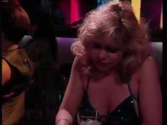 Classic porn with Rebecca Wild picking up a man at the bar and getting fucked