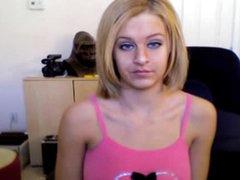 Big natural boobs tease on webcam
